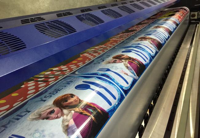 impresión en banner