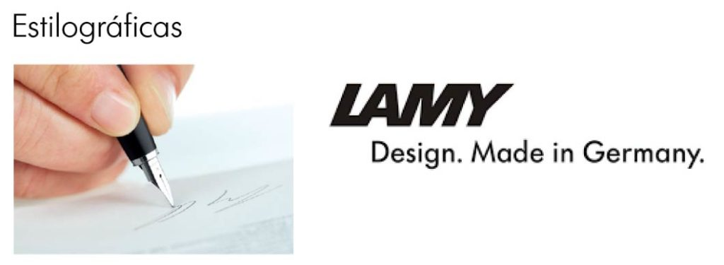 estilografos lamy