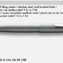 LAMY 2000 M 002