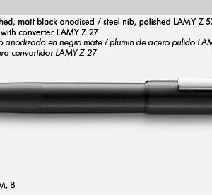LAMY AION BLACK 077