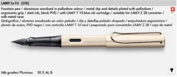 LAMY LX PD 058