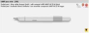 LAMY PICO WHITE 288