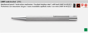 LAMY SCALA BRUSHED 151