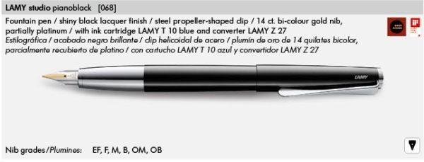 LAMY STUDIO 068