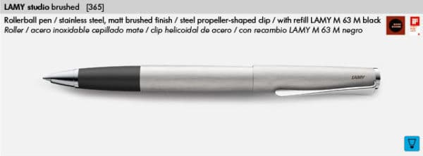 LAMY STUDIO BRUSHED 365