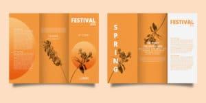 impresión de brochure