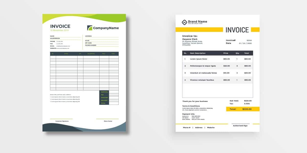 Las facturas son el producto de papelería corporativa por excelencia.
