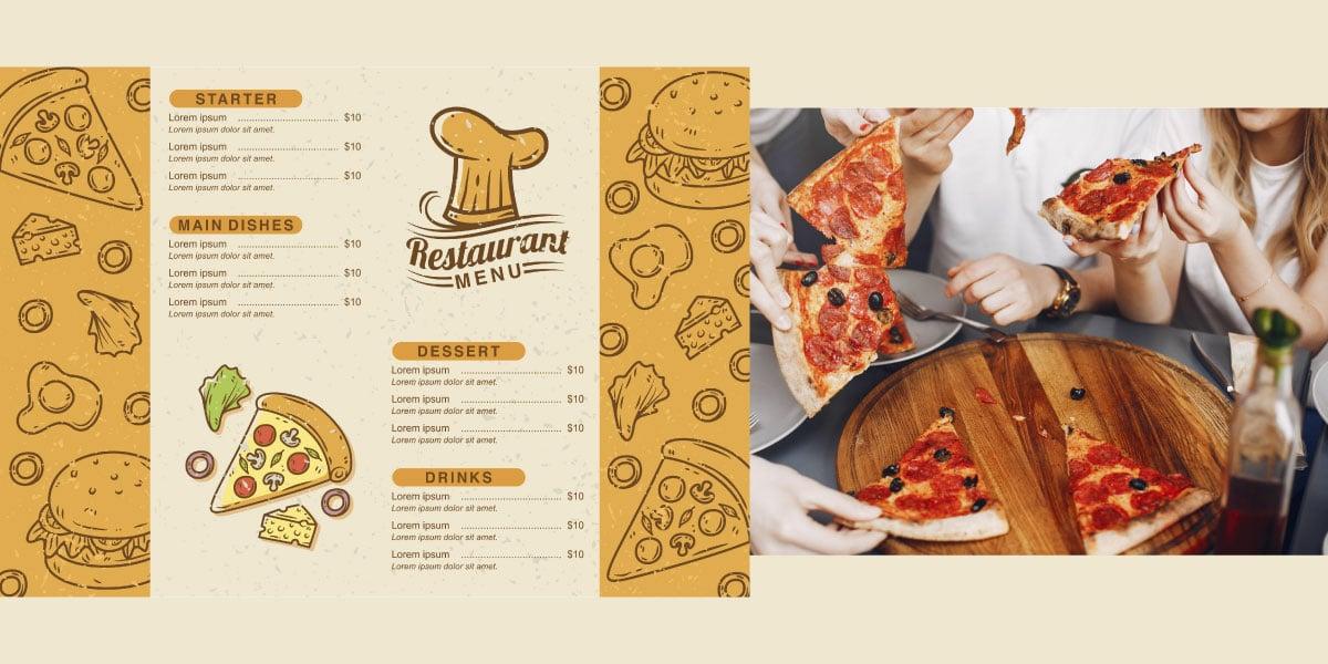 menú de restaurantes