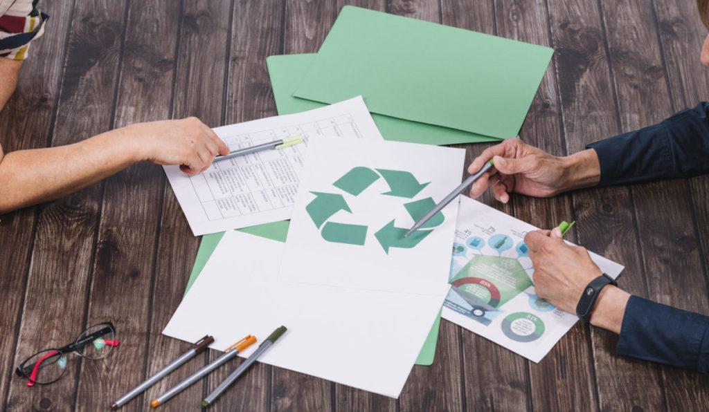 Reciclaje como medio creativo