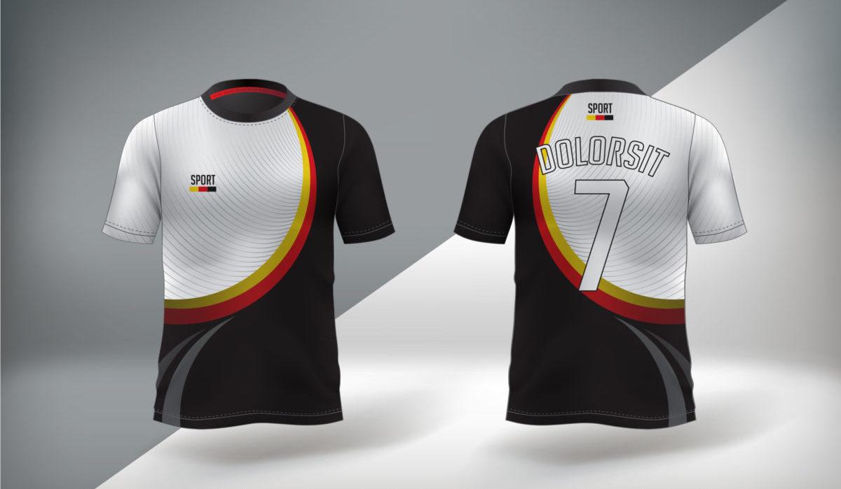 impresión por sublimación para uniformes de rugby