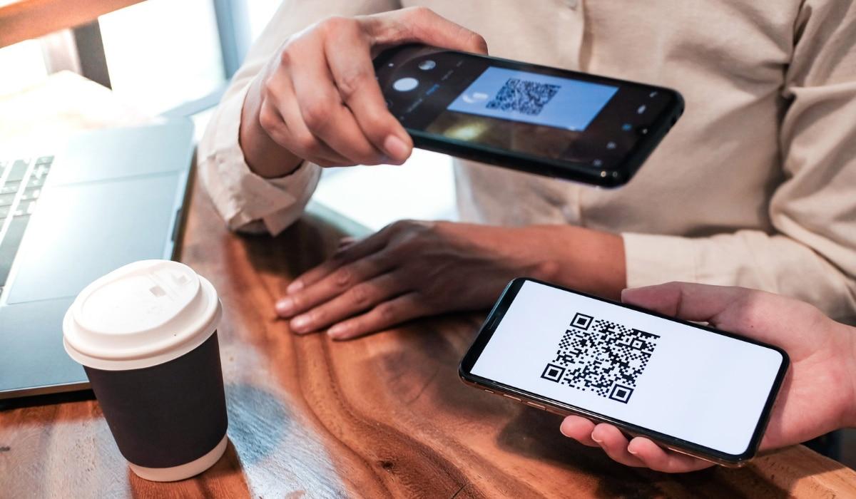 código QR para pago en restaurante