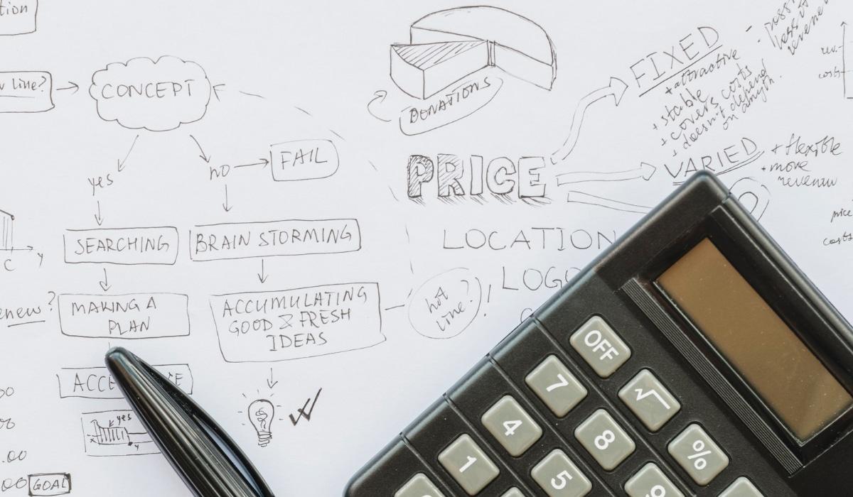 calculadora con plan de precios